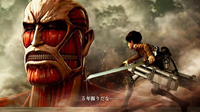 Attack on Titan muestra su jugabilidad en vídeo