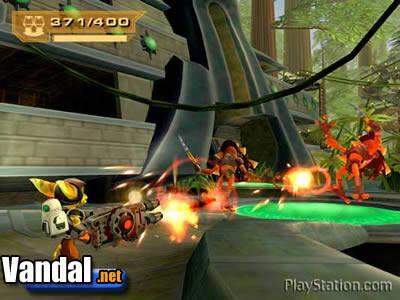Ratchet & Clank 3 tendrá multijugador y juego online