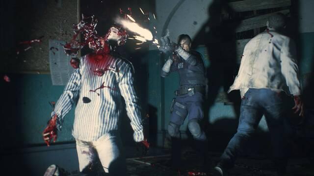 Resident Evil 2 Remake: Ponen a prueba a los zombis con varios experimentos