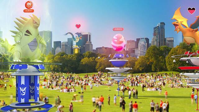 Pokémon GO soluciona un bug relacionado con los huevos de las Incursiones
