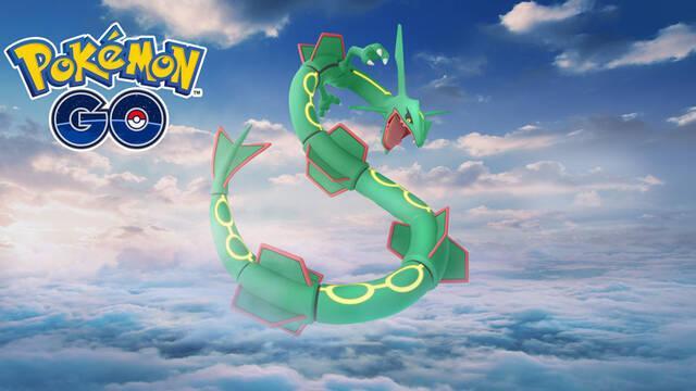 Rayquaza aparecerá en las incursiones de Pokémon GO