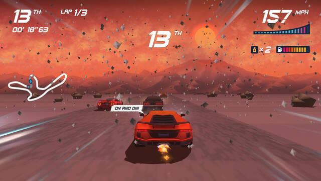 Horizon Chase Turbo funciona a 4K nativos y 60fps en PS4 Pro
