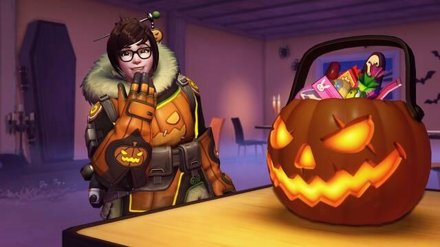 Overwatch comienza su evento Halloween Terror con nuevas apariencias