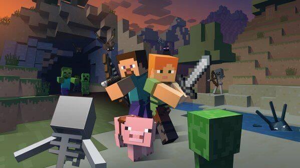 Las batallas llegan a Minecraft para Wii U el 21 de junio