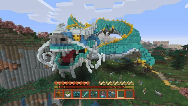 El pack de China llega a Minecraft para consolas el 5 de octubre
