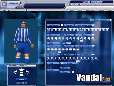 Nuevas imágenes de PC Fútbol 2005