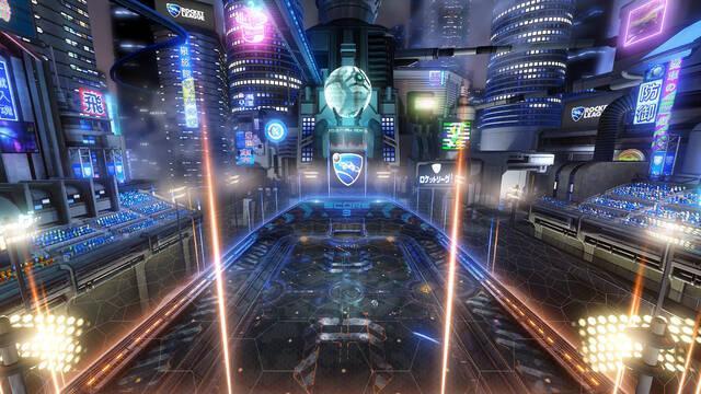 Rocket League nos muestra Neo Tokyo