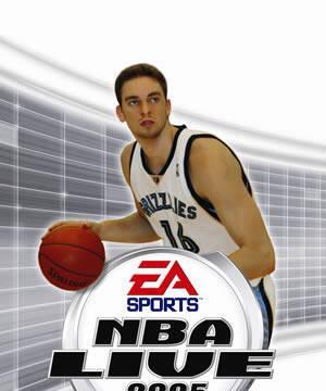 Desvelada la portada de NBA Live 2005