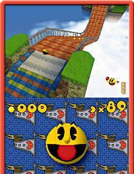 Pac'n Roll mostrado para Nintendo DS
