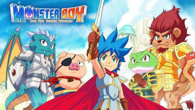 Monster Boy and the Cursed Kingdom llegará finalmente el 4 de diciembre