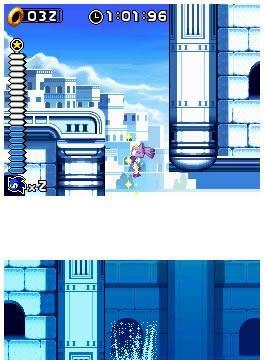Nuevas imágenes de Sonic Rush