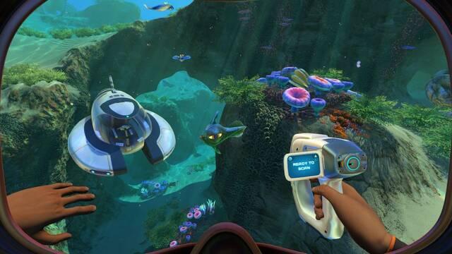 Subnautica gratis en Epic Games Store por tiempo limitado