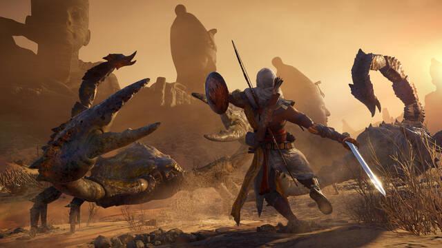 Assassin's Creed Origins, el más vendido la última semana en Reino Unido