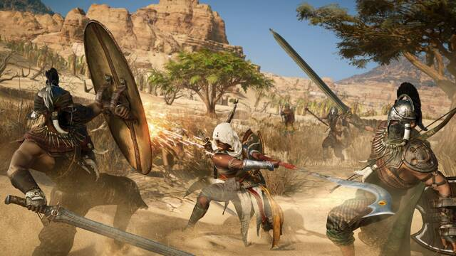 Mostrado el sistema de combate de Assassin's Creed Origins