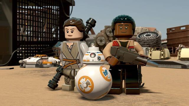 LEGO Star Wars: El Despertar de la Fuerza nos enseña su tráiler del E3
