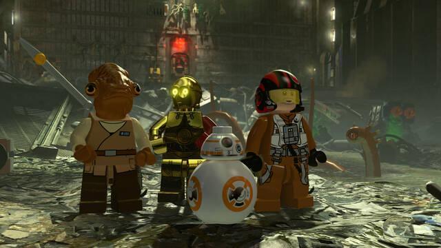 LEGO Star Wars: El Despertar de la Fuerza, el juego más vendido por quinta semana en Reino Unido