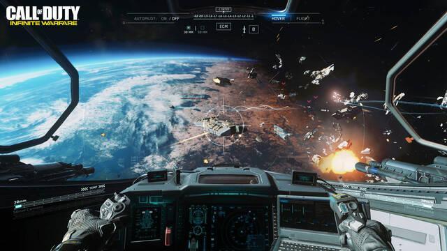 Activision cree que Infinite Warfare no se sentía como un COD