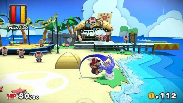Paper Mario: Color Splash fija su lanzamiento europeo para el 7 de octubre