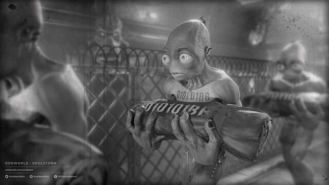 Oddworld: Soulstorm presenta su primera imagen