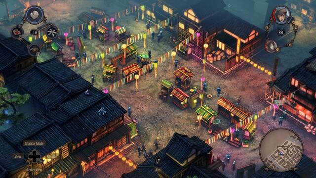 Shadow Tactics: Blades of the Shogun llegará a Xbox One y PS4 el 28 de julio