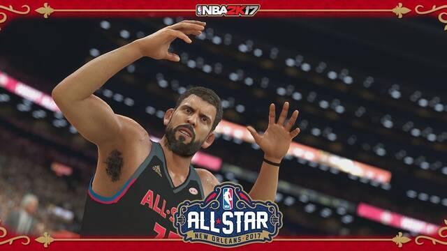 NBA 2K17 presenta a Marc Gasol en el All-Star Game 2017