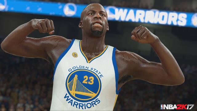 NBA 2K17 predice que los Warriors ganarán los playoffs de la NBA