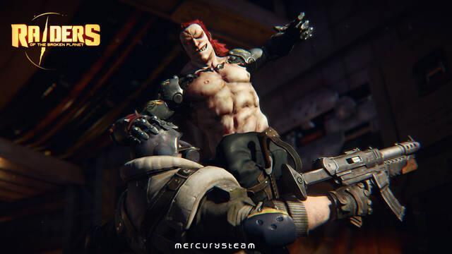 Raiders of the Broken Planet presenta su campaña gratuita Eternal Soldier