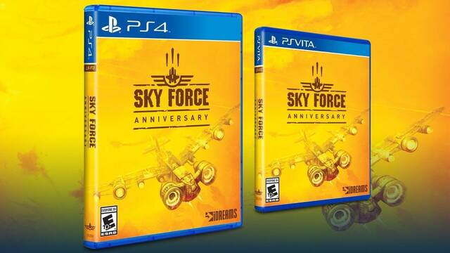 Sky Force Anniversary tendrá edición física en PS4 y PS Vita