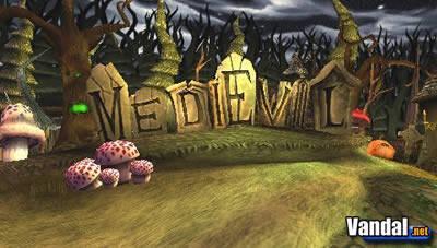 Primeras imágenes de Medievil para PSP