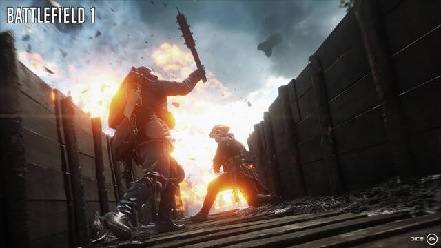 Battlefield 1 nos muestra un pequeño adelanto del tráiler de este domingo