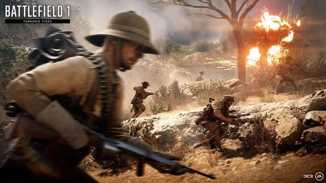 EA desvela los próximos contenidos que llegarán a Battlefield 1