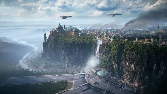 Star Wars Battlefront II muestra un breve adelanto del tráiler de esta noche