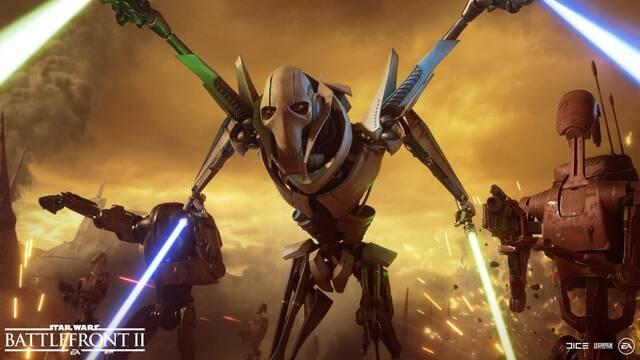 Star Wars Battlefront 2 descargado gratis 19 millones de jugadores.