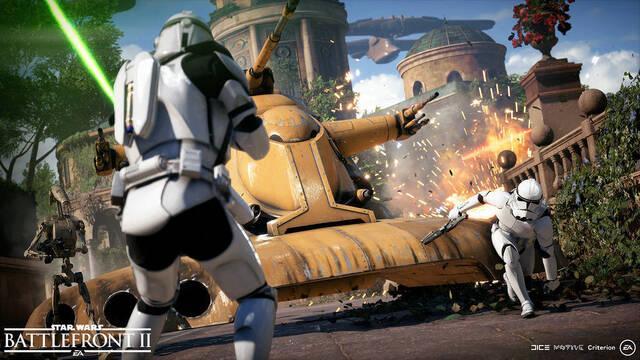 Star Wars: Battlefront II revela sus mapas