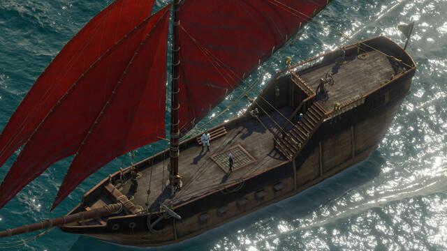 Cómo funciona el Barco en Pillars of Eternity 2: Deadfire