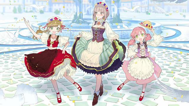 Atelier Firis: The Alchemist of the Mysterious Journey muestra a Escha, Logy y nuevos personajes