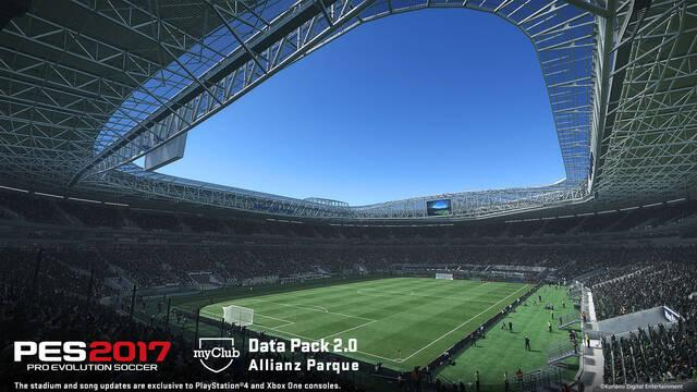 Pro Evolution Soccer 2017 nos muestra en vídeo sus nuevos estadios