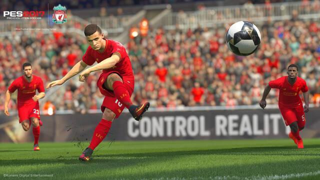 Pro Evolution Soccer 2017 ya puede jugarse a 4K en PS4 Pro