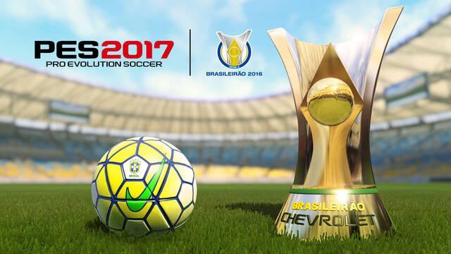 PES 2017 firma un acuerdo exclusivo con la Confederación Brasileña de Fútbol