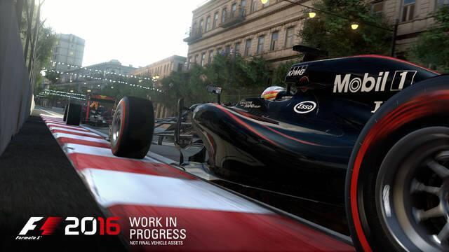 F1 2016 se lanza el 19 de agosto