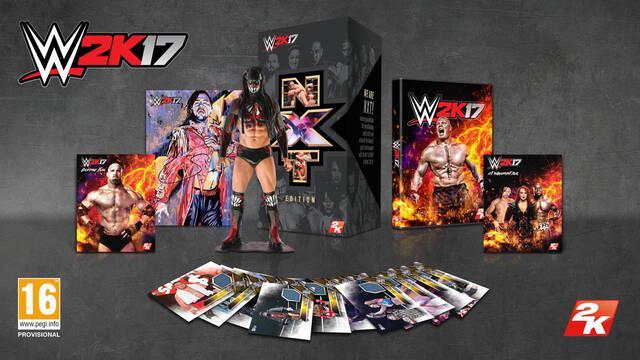 WWE 2K17 presenta su edición para coleccionistas