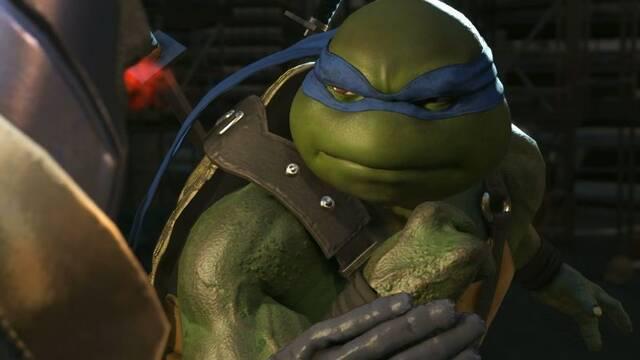 Otro vistazo a las Tortugas Ninja en Injustice 2