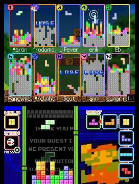 Primeras imágenes de Tetris DS