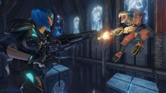 El frenetismo de Quake Champions se muestra en un nuevo vídeo