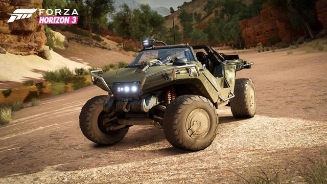 Forza Horizon 3 ya está terminado y nos presenta al Warthog de Halo