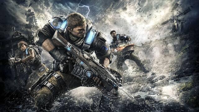 Gears of War 4 enumera sus mejoras visuales para Xbox One X en vídeo