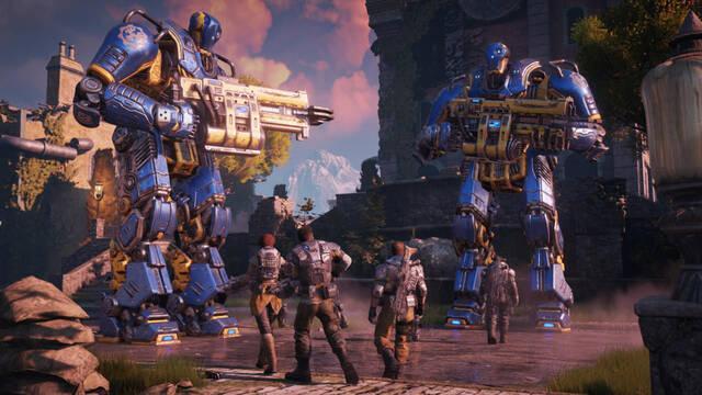 Gears of War 4 detalla sus mejoras gráficas en Xbox One X