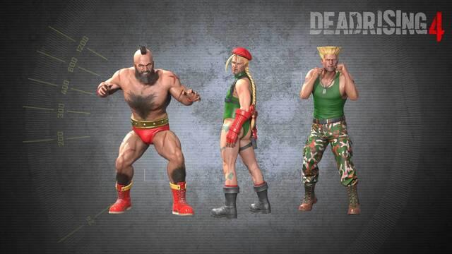 Dead Rising 4 muestra sus trajes basados en Street Fighter en un nuevo tráiler