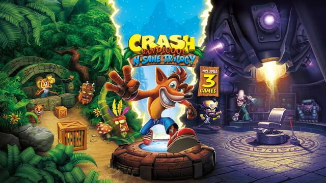 Crash Bandicoot Trilogy llegará a Switch, Xbox One y PC el 10 de julio