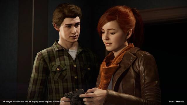 Nuevos detalles de Peter Parker y su alter ego en Spider-Man